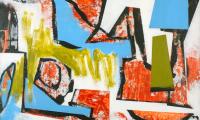 Super bon bon, 2018, 110 x 160 cm, Acryl auf Hartfaser