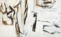 Lazy eye, 2013, 110 x 160 cm, Acryl auf Hartfaser
